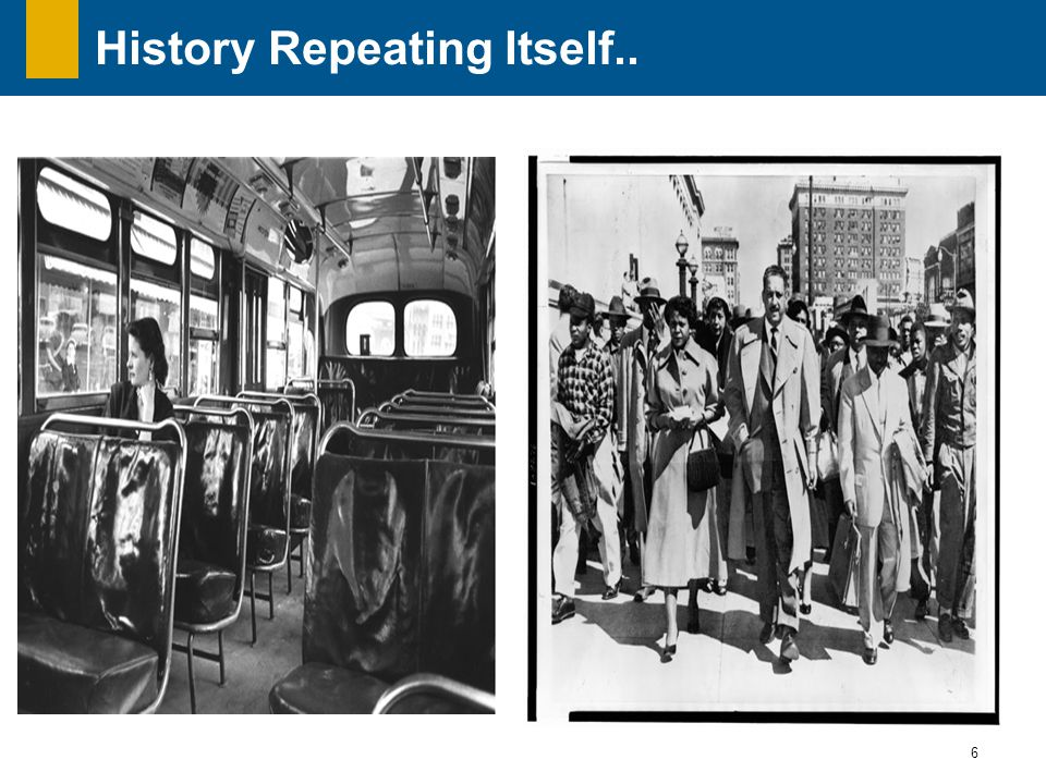 6 History Repeating Itself..