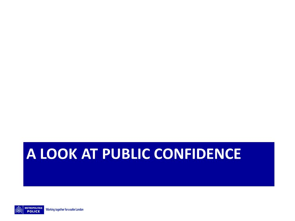 5/2/2015 A LOOK AT PUBLIC CONFIDENCE