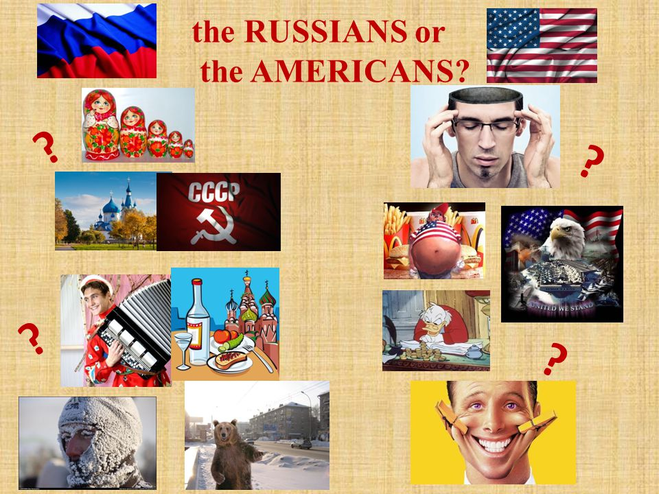 the RUSSIANS or the AMERICANS? ? ? ? ?