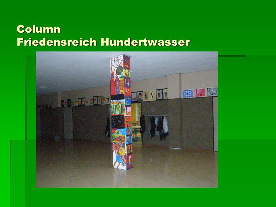Column Friedensreich Hundertwasser