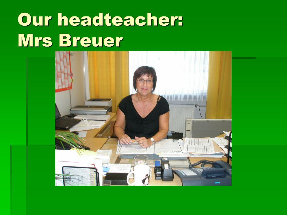 Our representative headmaster: Mr Scholl