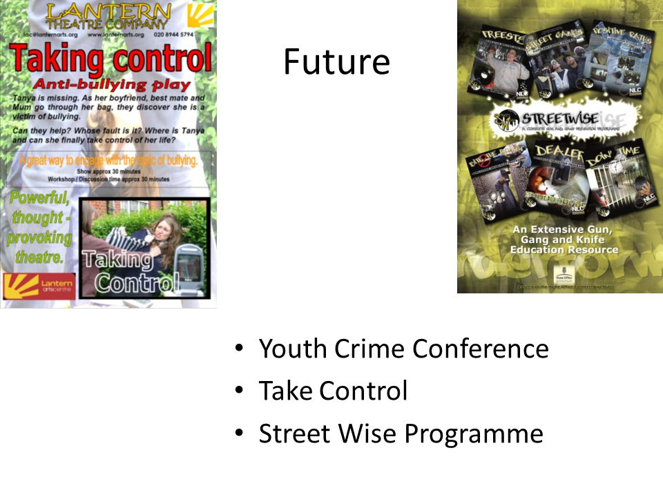 Future Youth Crime Conference Take Control Street Wise Programme
