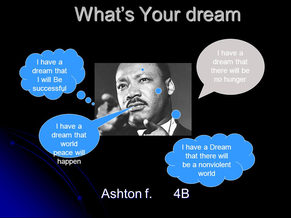 What's Your dream Ashton f.