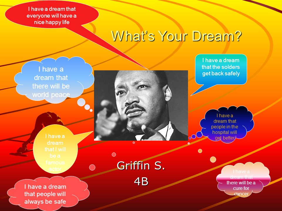 What's Your Dream. Griffin S.