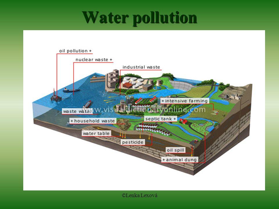 ©Lenka Lexová Water pollution