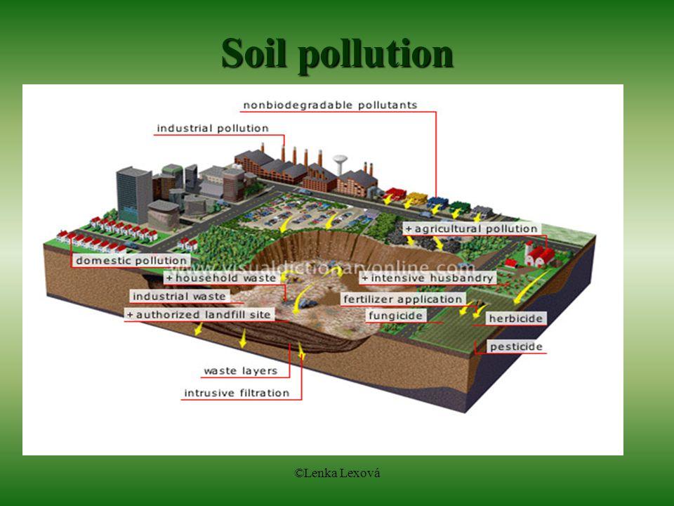 ©Lenka Lexová Soil pollution