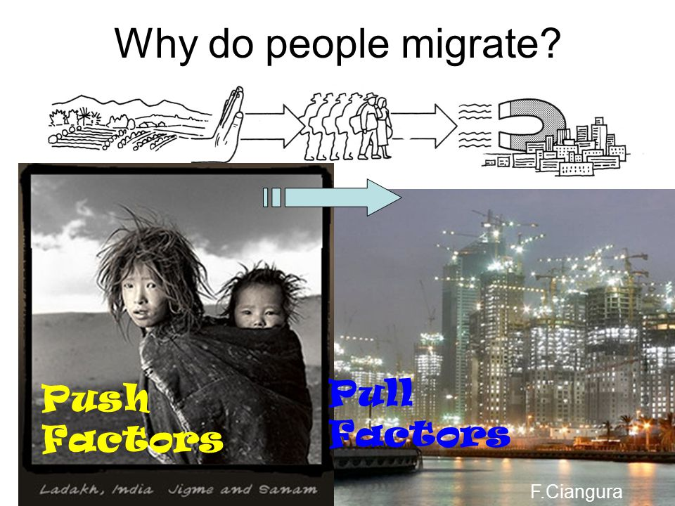 c) INTERNATIONAL MIGRATION d) SEASONAL / TEMPORARY MIGRATION Moving from one country to another e.g. From Malta to Australia Changing home for some ti