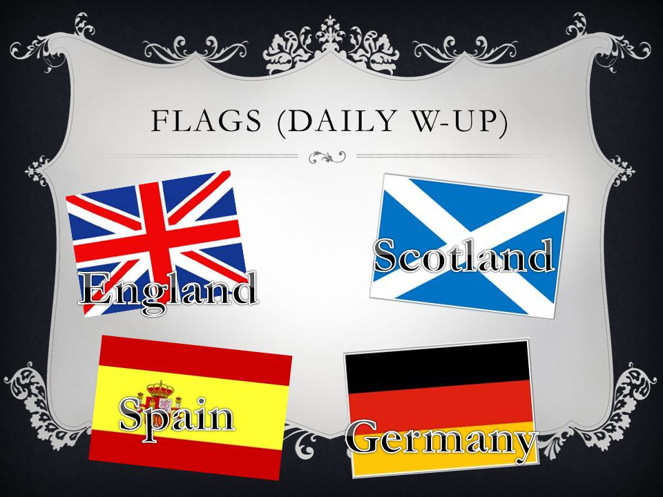 FLAGS (DAILY W-UP)