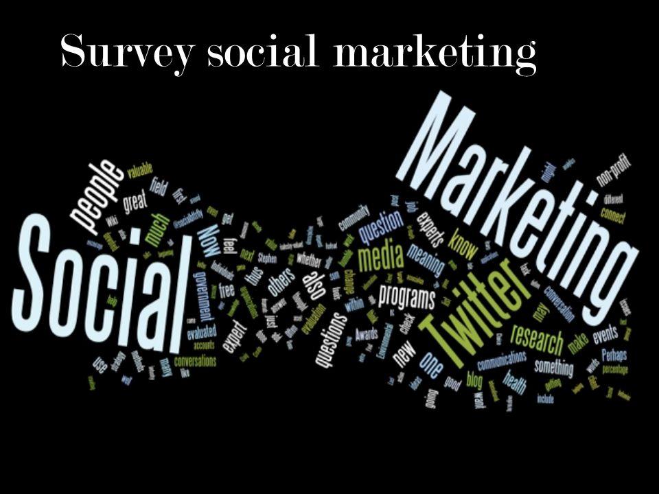 Survey social marketing