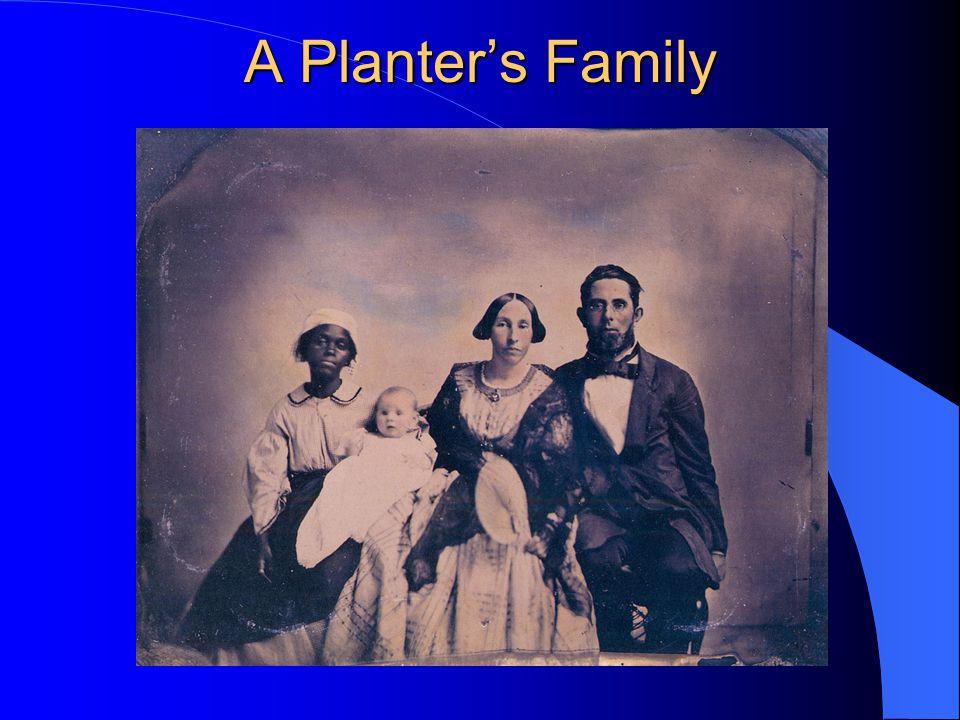 A Planter's Family