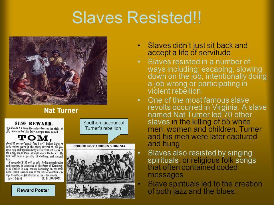Slaves Resisted!.