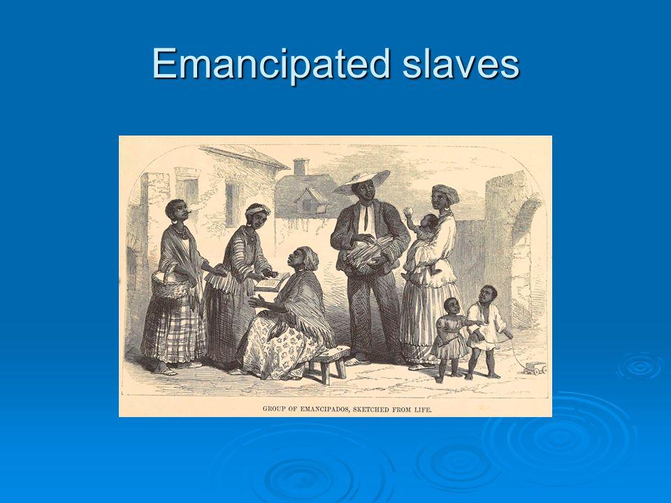 Emancipated slaves