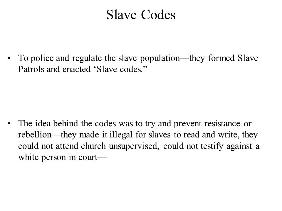 Slave labor Slave labor in the upper South was much different from the lower South—enjoyed more freedom— often worked at their own pace and often without white supervision— Many slave owners allowed slaves to hire their own time and live in the towns and industrial areas and find their own work—this benefited the slave owner because he could now make a profit off his slaves by hiring them out and lessen the cost of up keep—