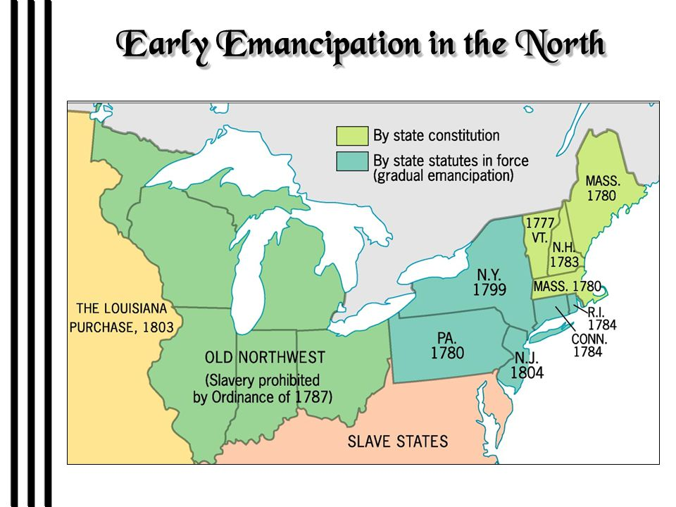 Abolition in the North 1.Extreme abolitionists (Garrison) unpopular in the North IC - popularity of men like Daniel Webster stressing the UnionIC - popularity of men like Daniel Webster stressing the Union IC - Constitution is sacred and the clauses on slavery are lasting clausesIC - Constitution is sacred and the clauses on slavery are lasting clauses 2.North had heavy economic stake in the South 3.Mobocracy due to abolitionism –Lewis Tappan's New York house –Garrison and the Broadcloth mob –Elijah P Lovejoy –Even Lincoln avoided extreme abolitionism IC - growing number Northerners didn't want to abolish slavery in the South but increasingly wanted to stop its spread to Western territories