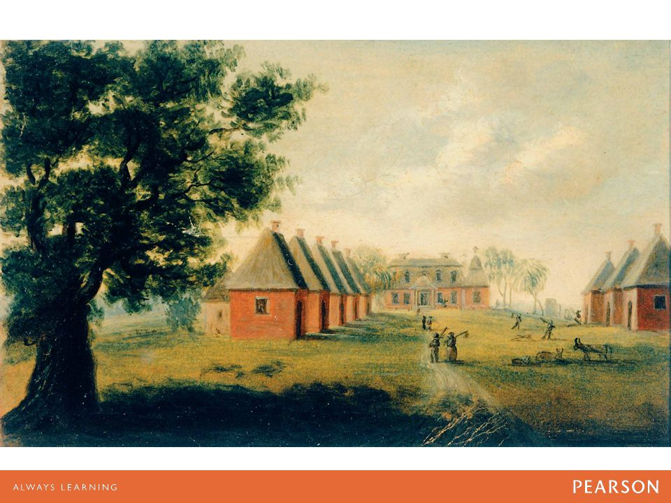 image of Mulberry Plantation, near Charleston, South Carolina, about 1800.