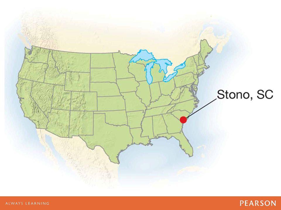 North America and Stono, SC