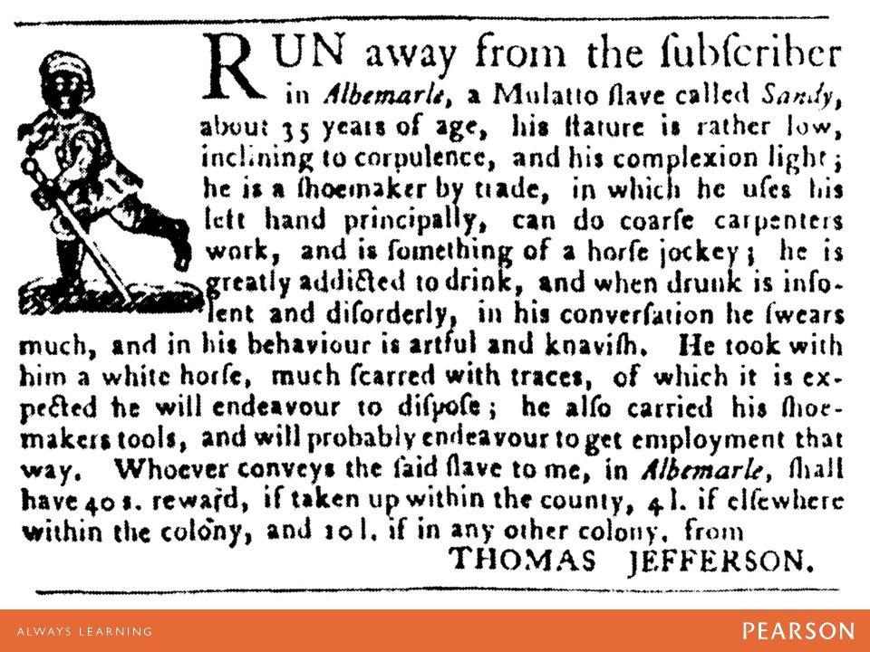 Advertisement in the Virginia Gazette on September 14, 1769.