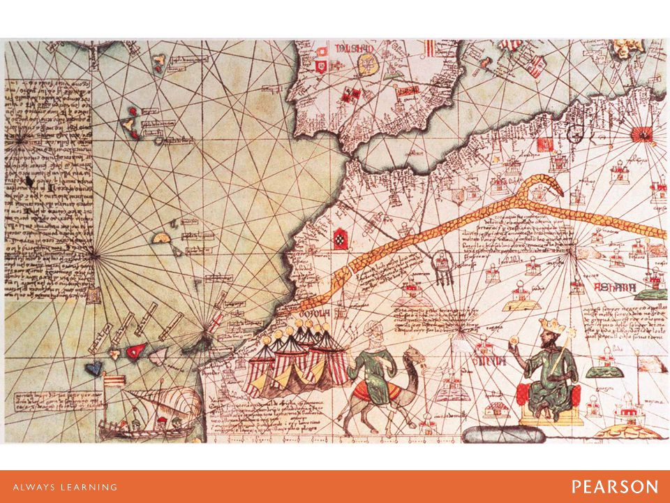 MAP 4.3 Triangular Trade Across the Atlantic