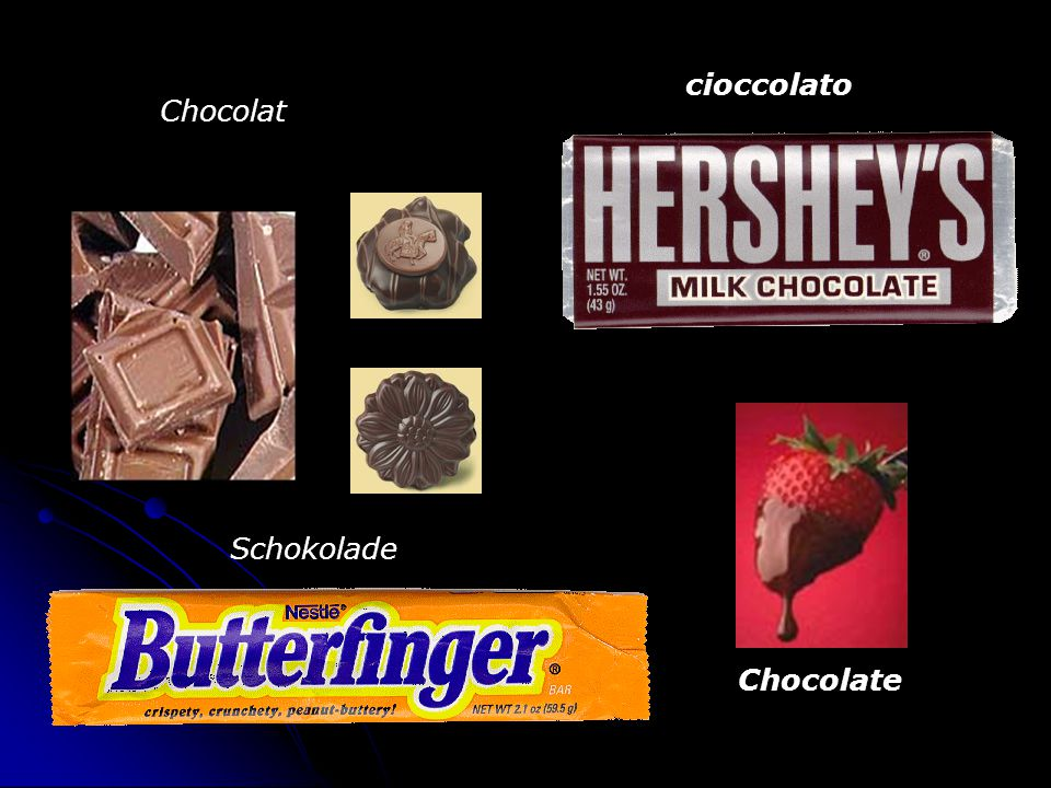 Chocolat Schokolade cioccolato Chocolate