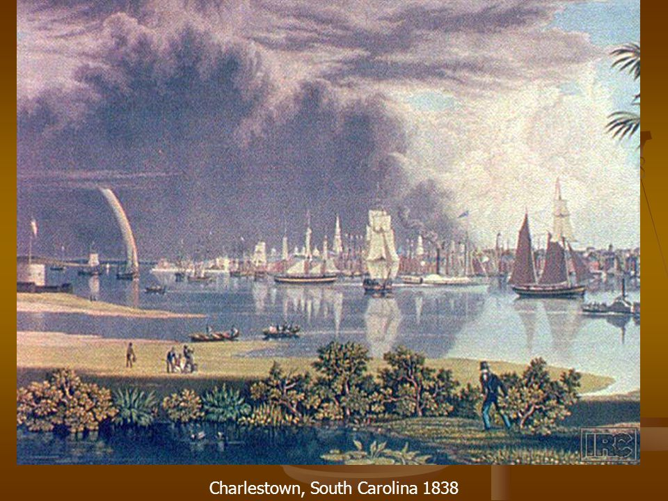 Charlestown, South Carolina 1838