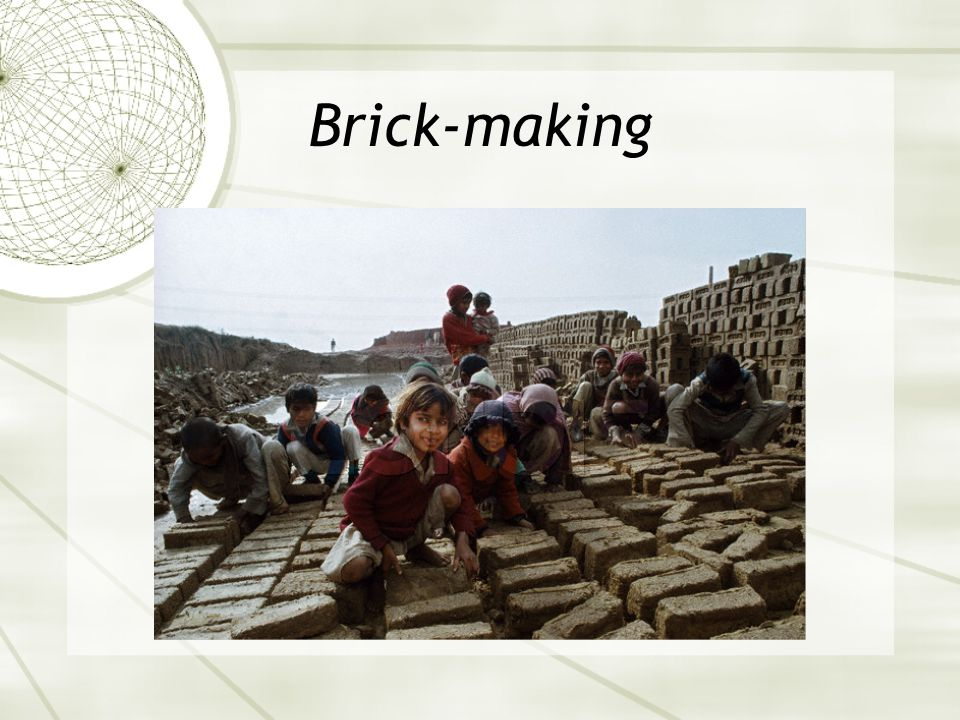Brick-making