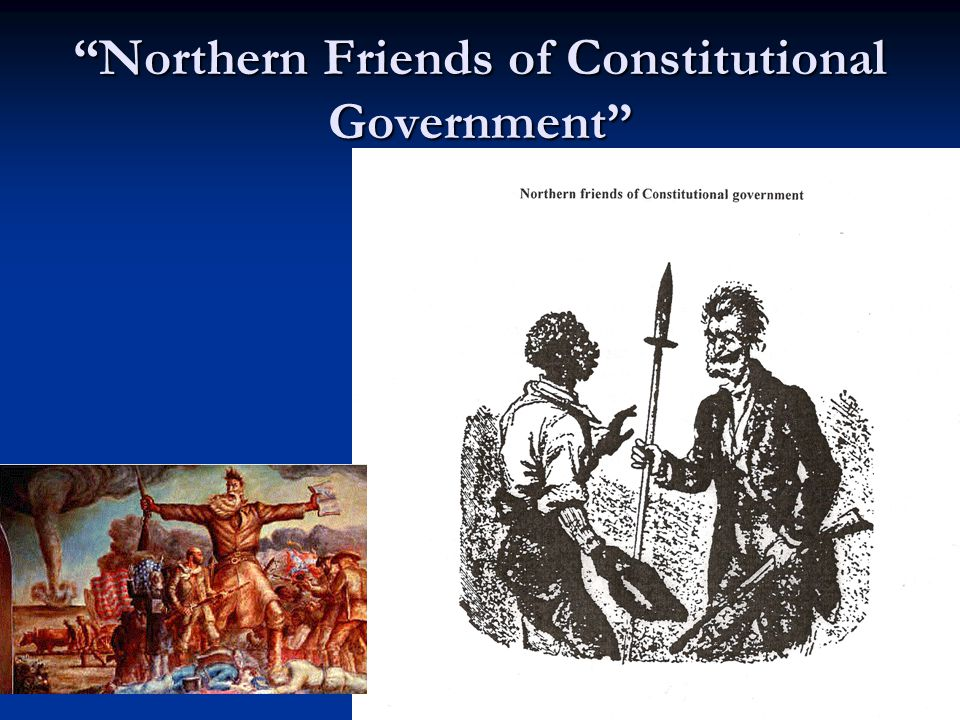 """""""Northern Friends of Constitutional Government"""""""