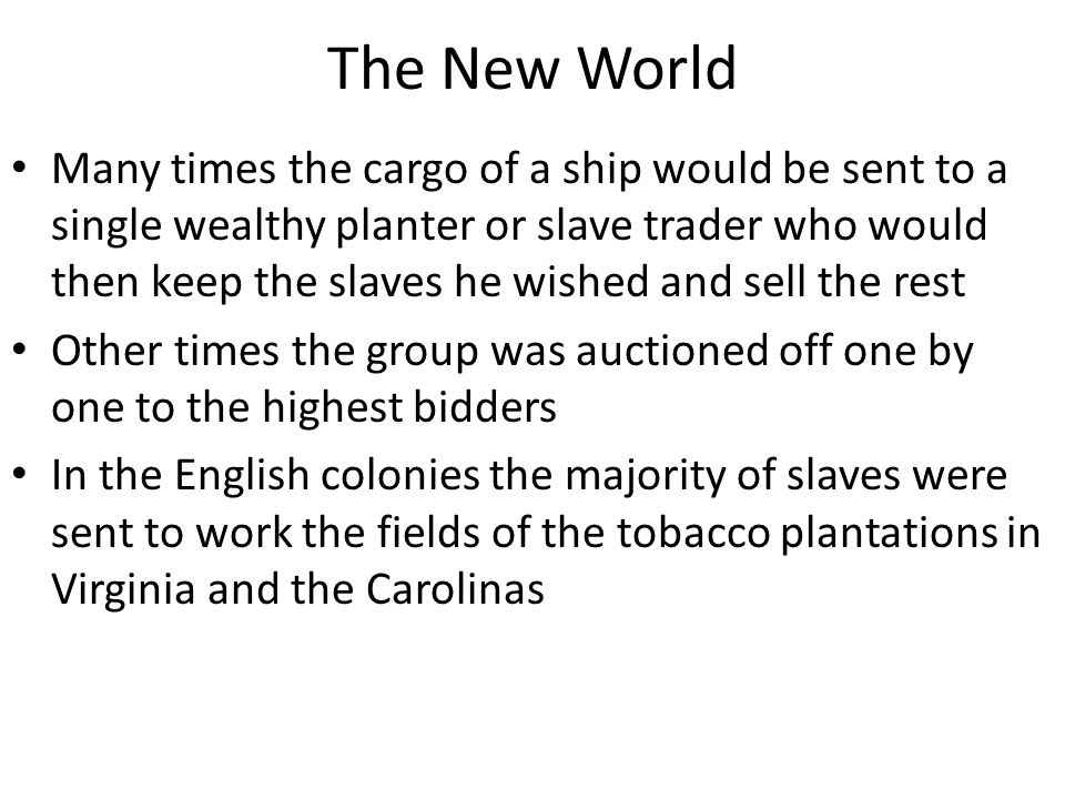 The Effect on Africa As the slave trade increased and European power became global power Africa lost its semblance of independence and power West Africa especially collapsed both culturally and economically Many leading West Africans quit independent endeavors such as farming to instead become slave catchers