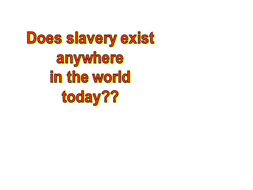 Task Use the information from the notes and the movie to write a news article on the Atlantic Slave Trade. –Write the article addressing the 5W's –Dra
