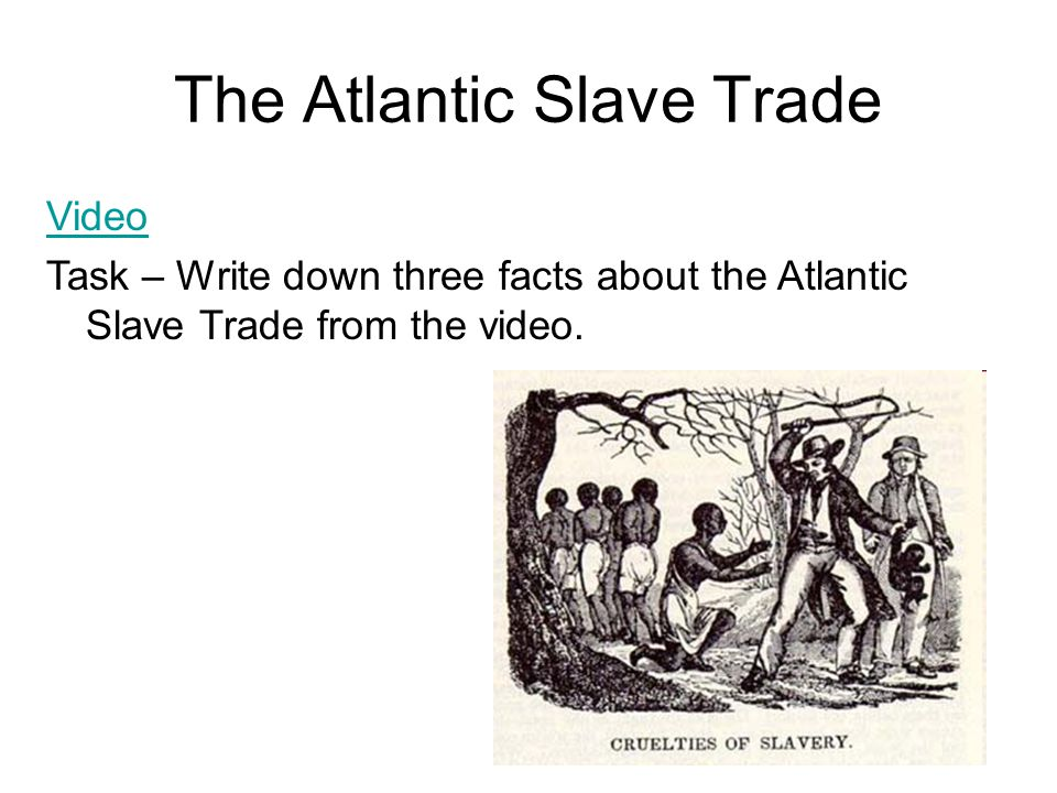 Aim: If you were a reporter how would you report on the Atlantic Slave Trade? Do Now: Answer the following questions in your notebook Where is this pl