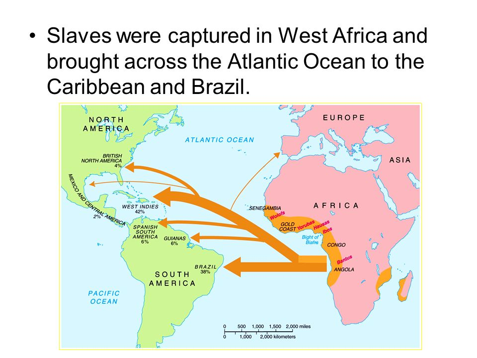 The Atlantic Slave Trade began in Africa in 1492? It ran for four centuries, from the 1500's to the 1800's. What else happened in 1492?