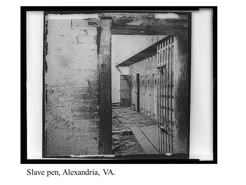 Slave pen, Alexandria, VA.