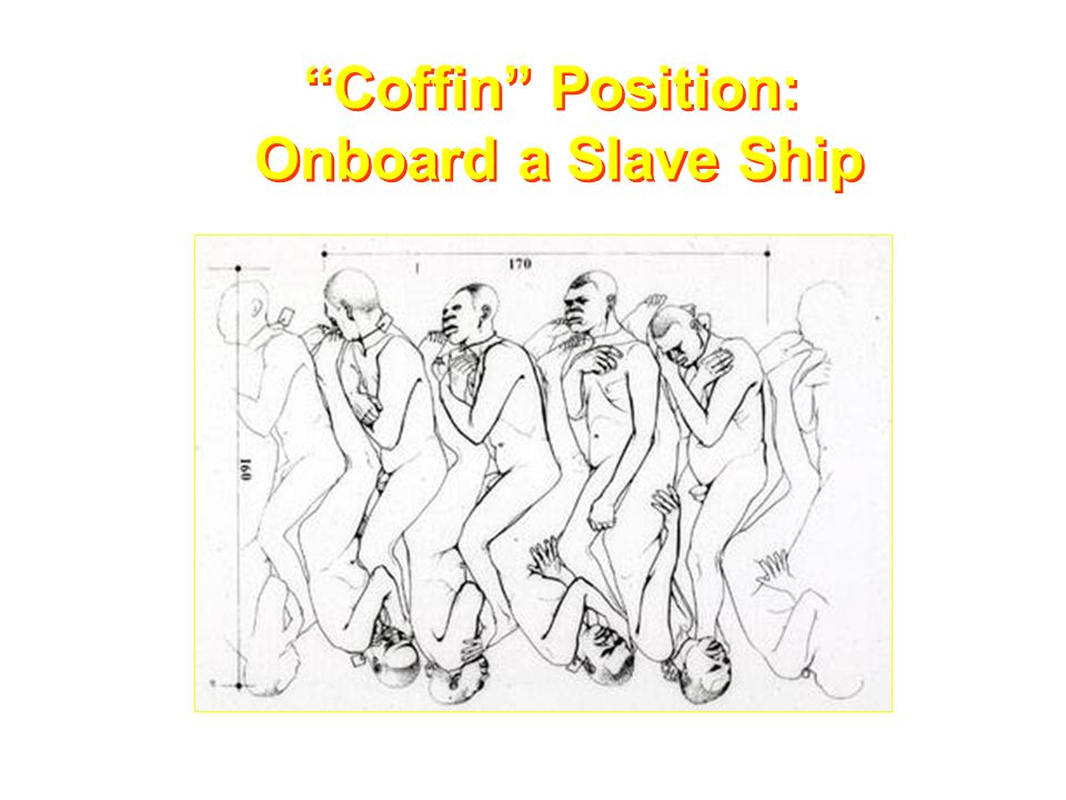 """Coffin"" Position: Onboard a Slave Ship"