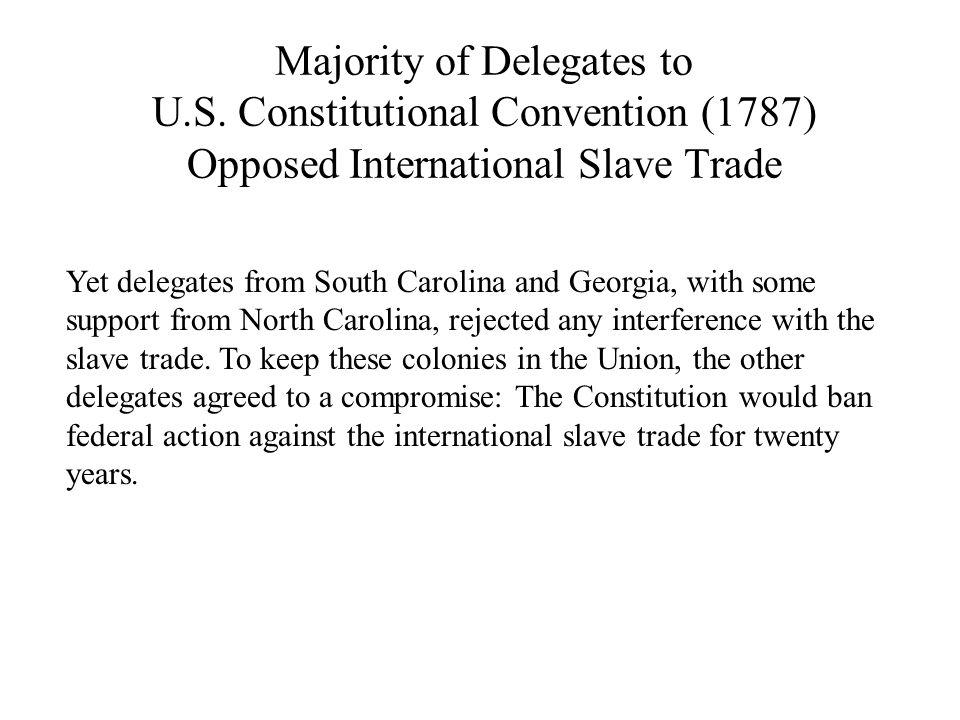 Majority of Delegates to U.S.