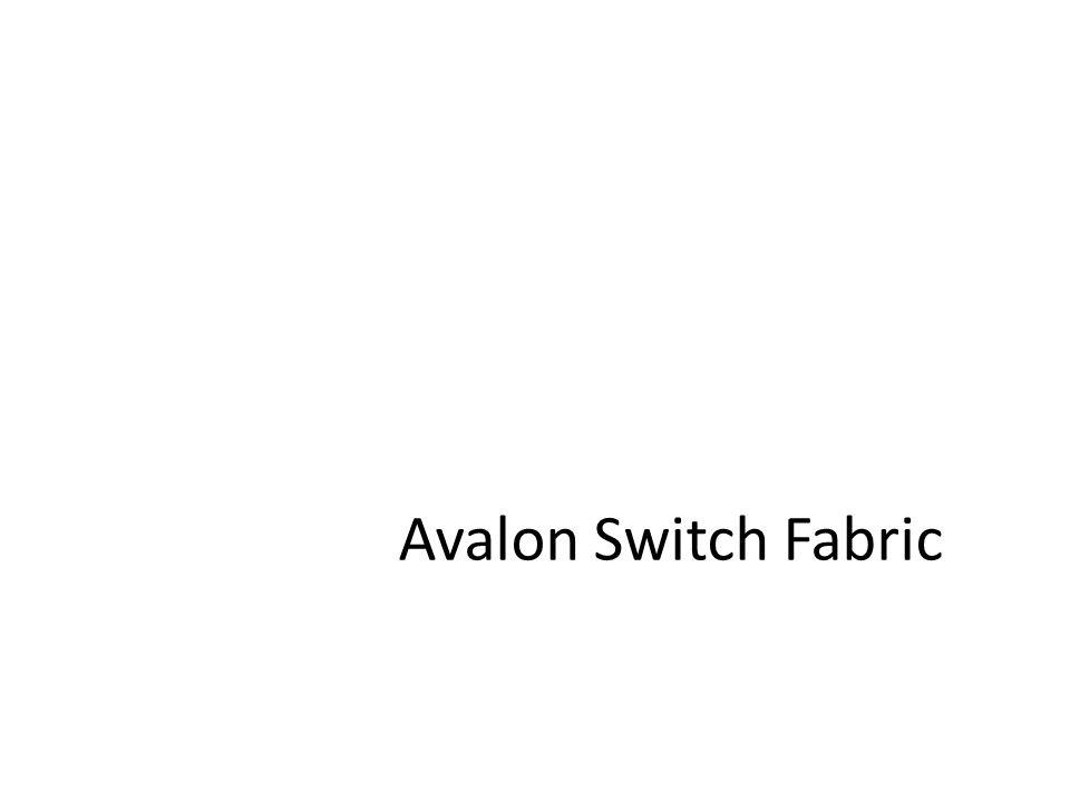 Avalon Switch Fabric