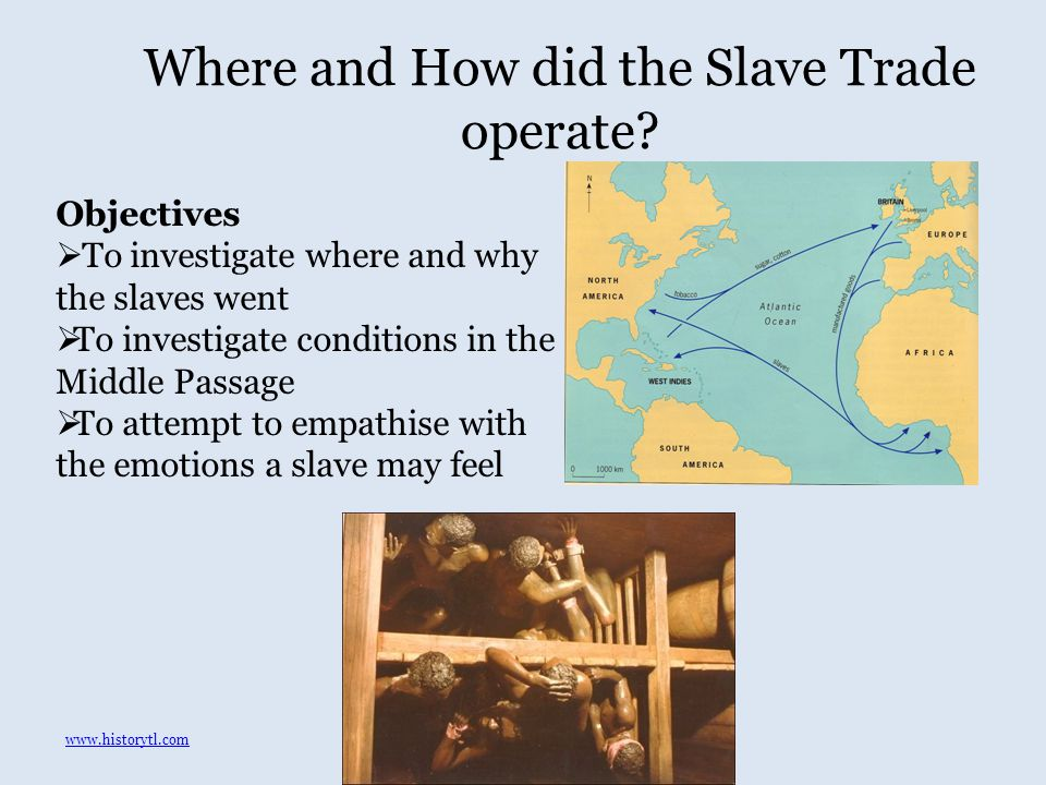 Where and How did the Slave Trade operate.