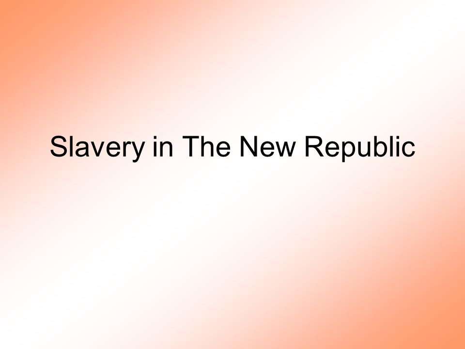 Free Black Population –Size –Social and civil stature Blurry line between slavery and freedom Broad denial of legal rights –Growing reputation as threat to slave system –Regional variations Lower South –Small numbers –Concentration in cities –Free black elite Upper South –Concentration in farmlands –Ties to slave community