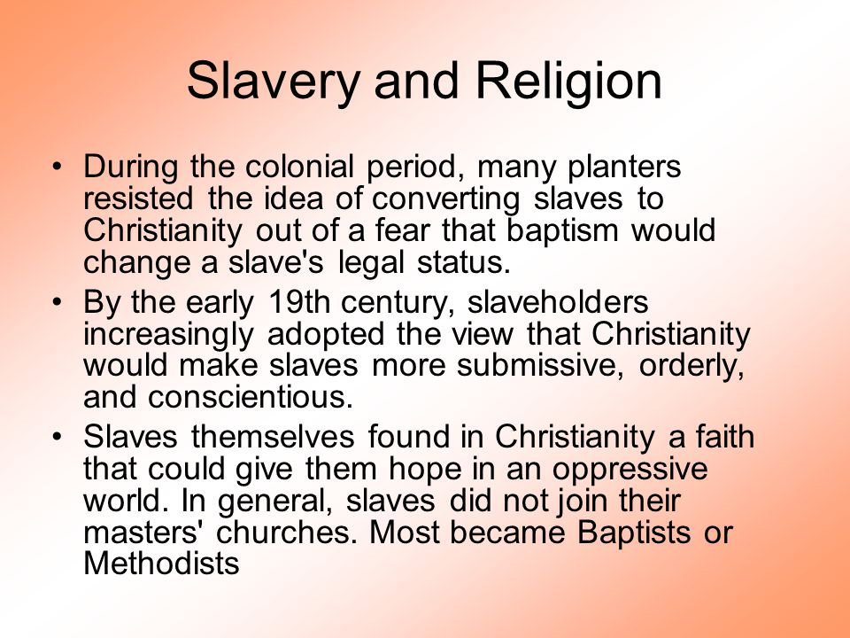 The Revolution and Slavery The Revolution had contradictory consequences for slavery.