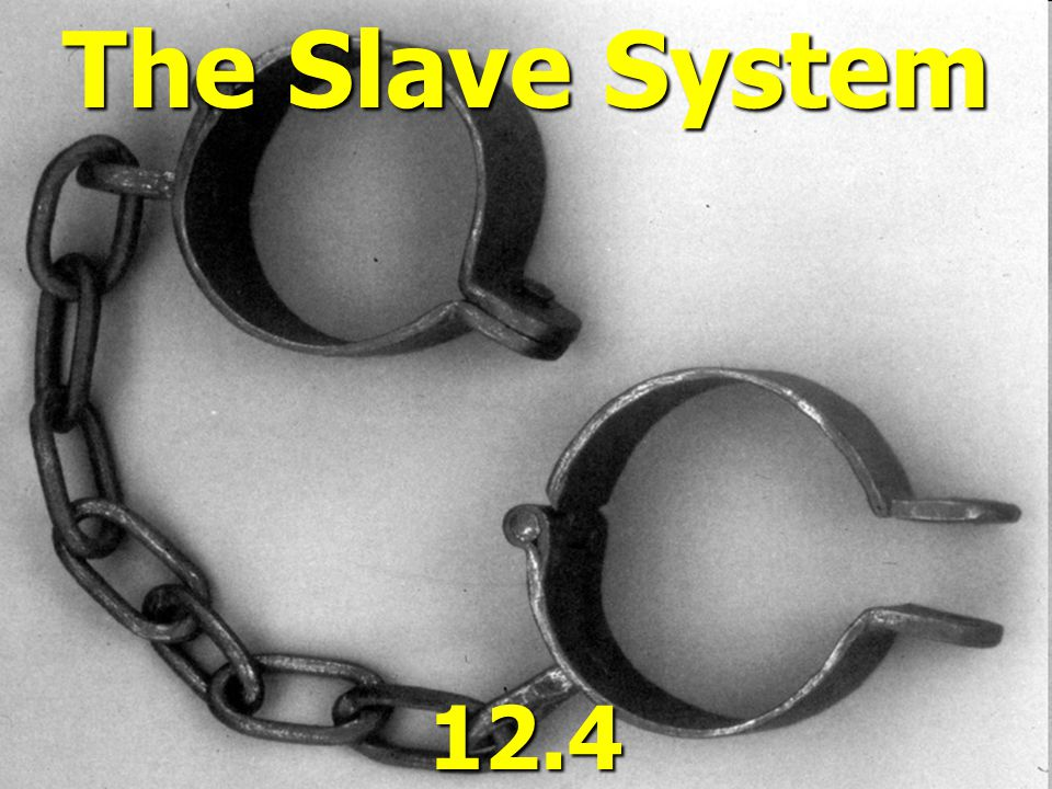 The Slave System 12.4