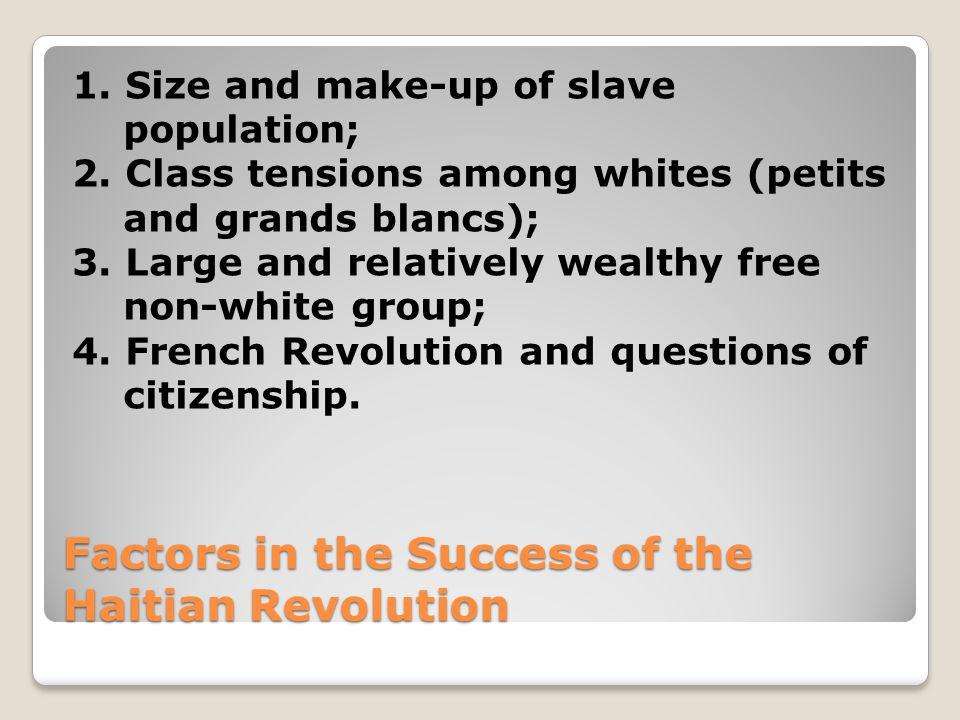 Some Major Slave Revolts Saint-Domingue (Haiti) 1791-1804 Denmark Vessey, Charleston, South Carolina, 1822 Nat Turner, Virginia, August 1831 Sam Sharpe, Jamaica, Christmas 1831