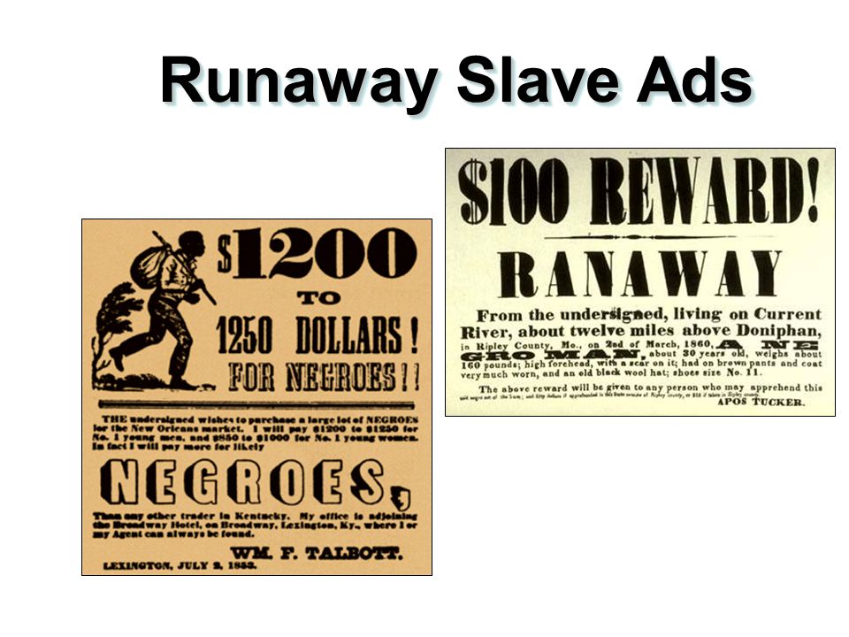 Slave Resistance 2.Refusal to work hard. 3.Isolated acts of sabotage. 4.Escape via the Underground Railroad.