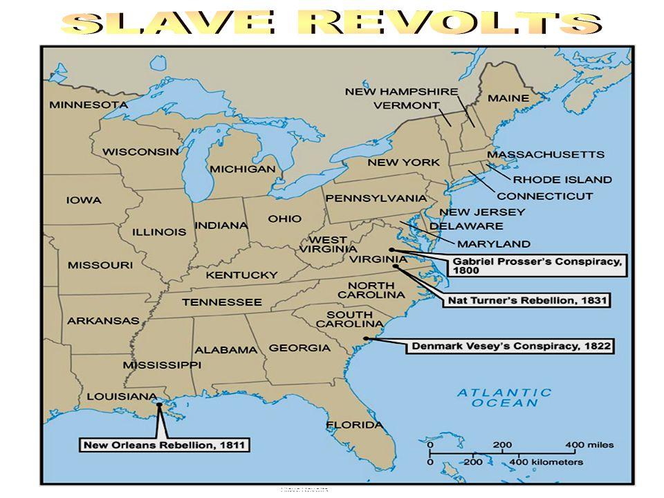 Nat Turner Rebellion Arrest of Nat Turner Tree Nat Turner was hung on Slave Revolts/Turner