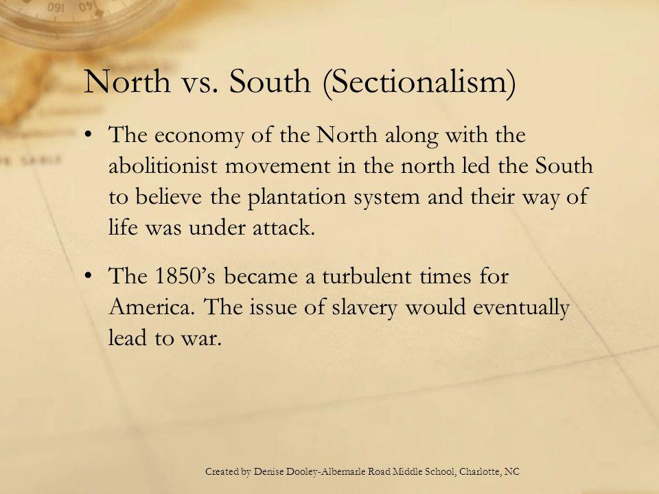 North vs.