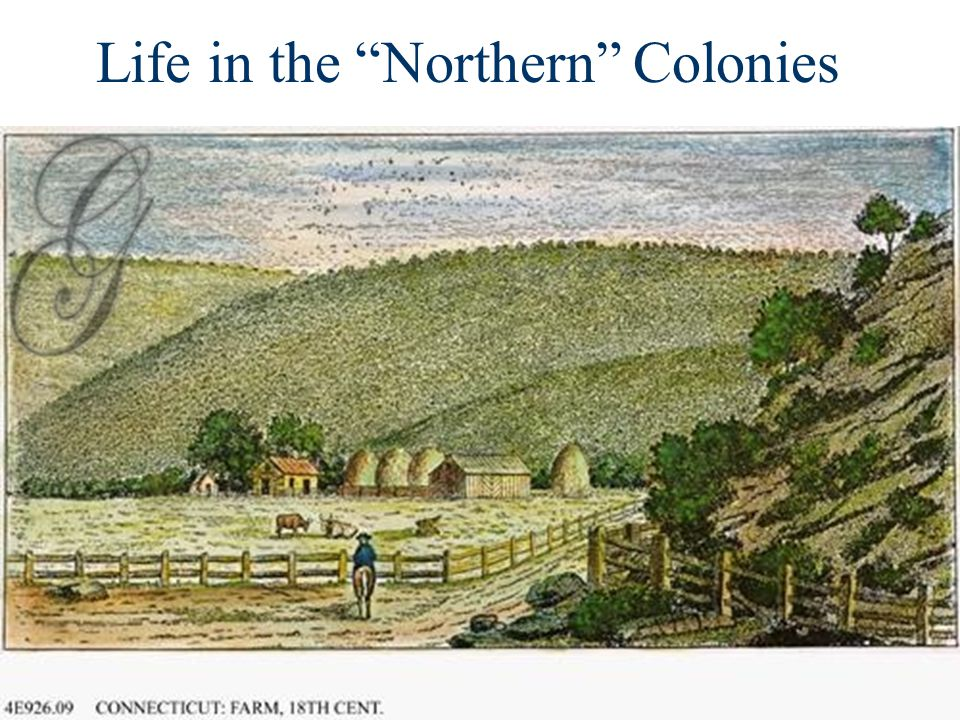 "Life in the ""Northern"" Colonies"