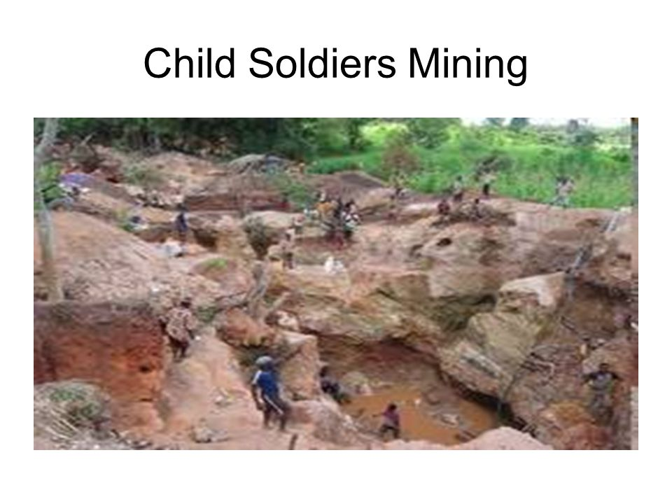 Child Soldiers Mining