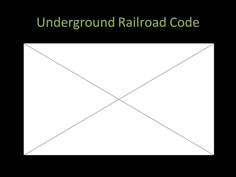 Underground Railroad Code