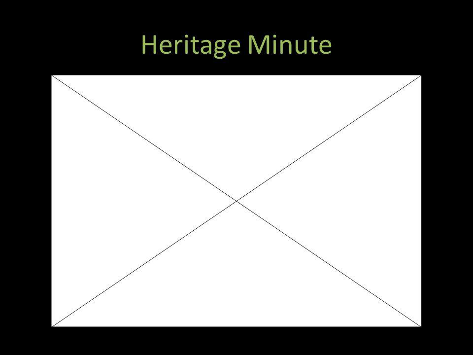 Heritage Minute