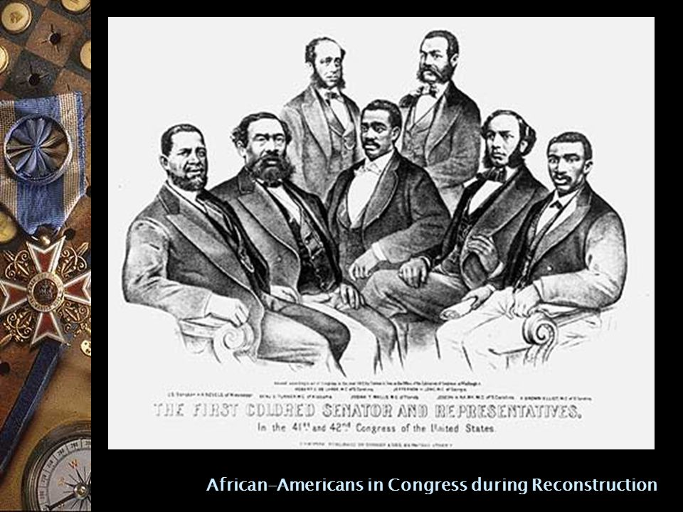 African-Americans in Congress during Reconstruction