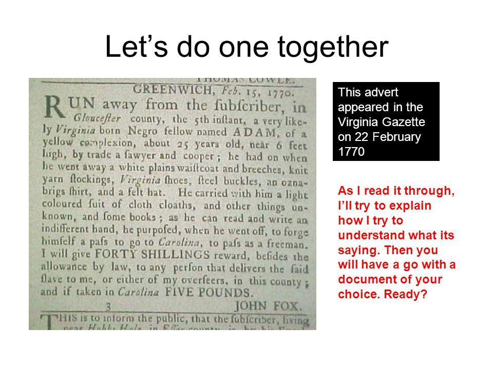 GREENWICH, Feb.15, 1770.