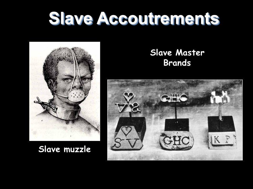Slave Master Brands Slave Accoutrements Slave muzzle