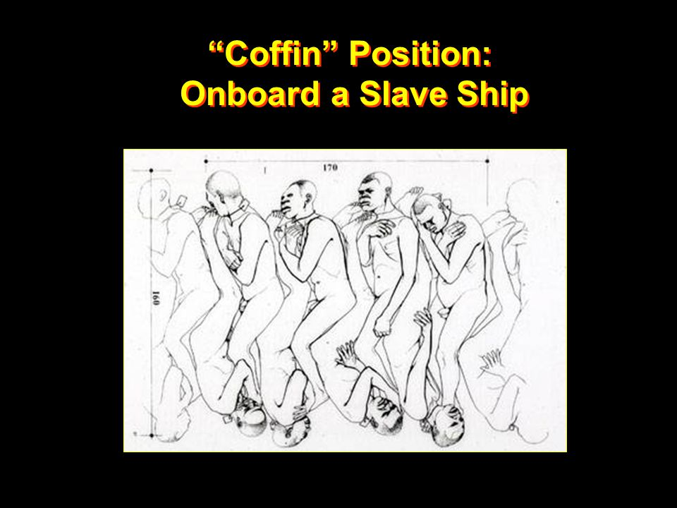 Coffin Position: Onboard a Slave Ship